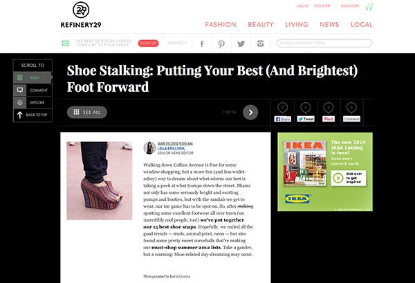 R29 - Shoe Stalking