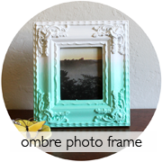Ombre Photo Frame