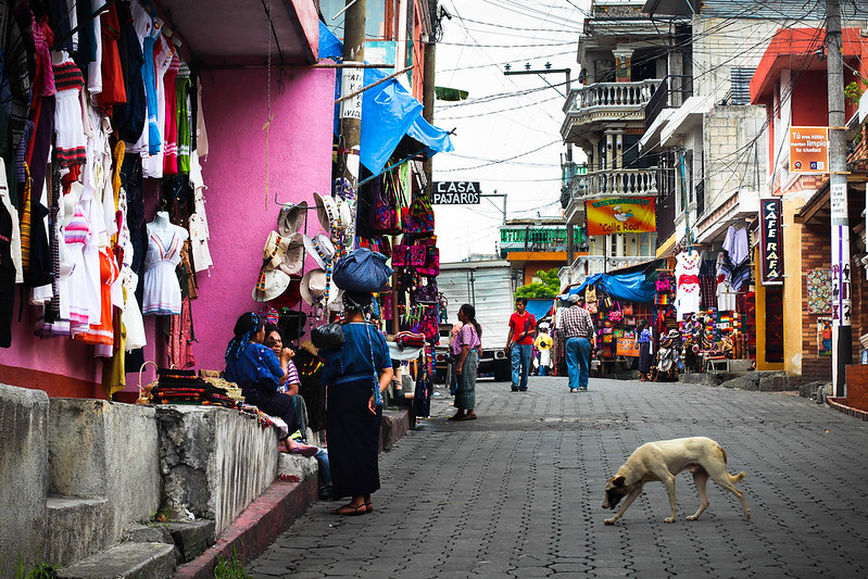 Panajachel Market, Guatemala