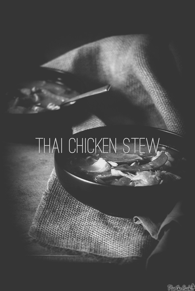 Thai Chicken Stew via GirlCarnivore.com