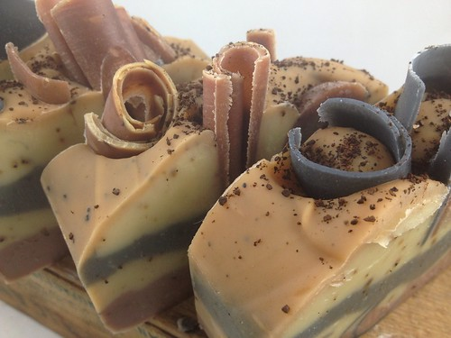 Coffee Cake Soap by The Daily Scrub