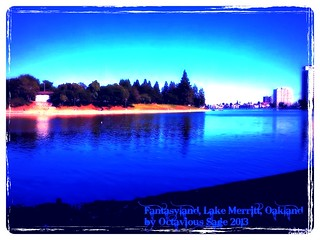 Fantasy Island, Lake Merritt, Oakland, California By Sage 2013