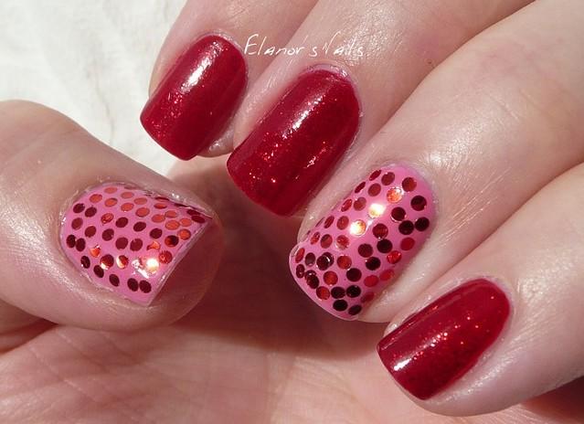pink & red sequins 5