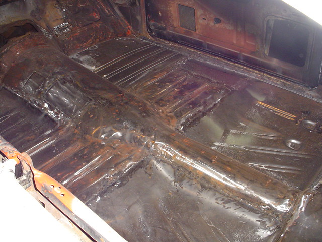 Full floor replacement or just pans with patches for 1957 chevy floor pan replacement