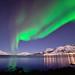 Aurora in Skulsfjord by John A.Hemmingsen