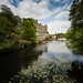 Small photo of Warwick Castle alongside River Avon