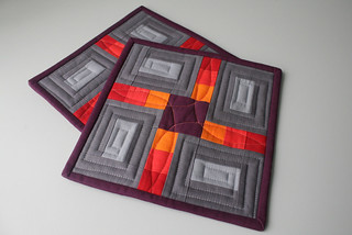 Petals Patchwork Pot Holders