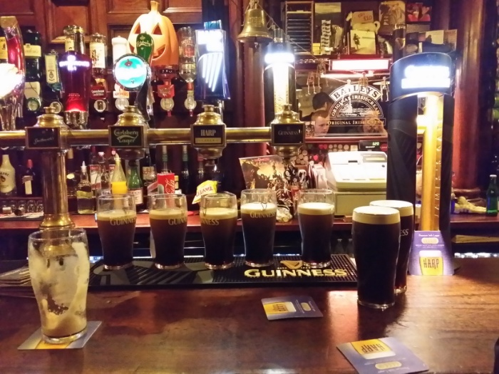 Line up those Guinness.