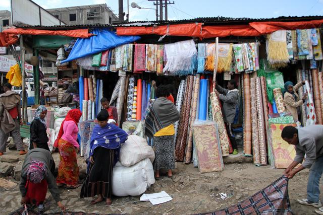 Shopping in Addis