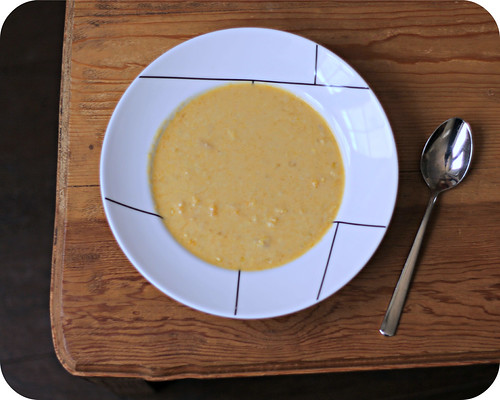 Butternut Squash and Corn Chowder