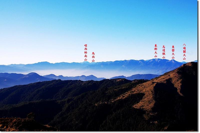 南三段群峰 1-1