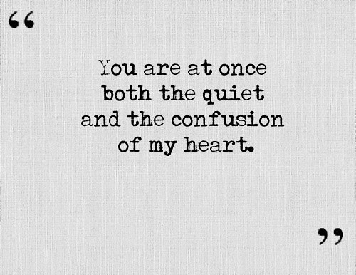 Confused Quotes | Lovequote Quotes Heart Relationship Love Both The Qu Flickr