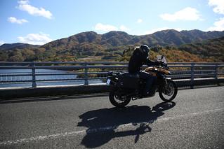 20131113 真野ダム~飯坂温泉ツーリング