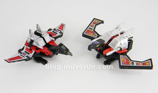 Transformers Laserbeak Masterpiece - modo condor vs G1