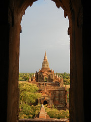 From window in North Guni Temple to South Guni Temple