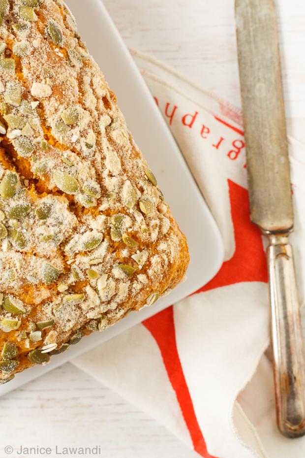 Maple pumpkin loaf cake | kitchen heals soul