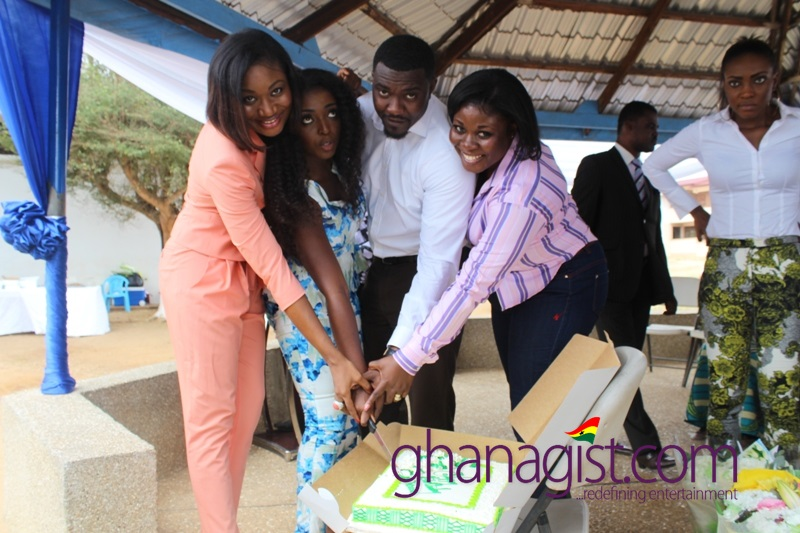Actress Yvonne Okoro celebrates 29th birthday at Dzorwulu Special School