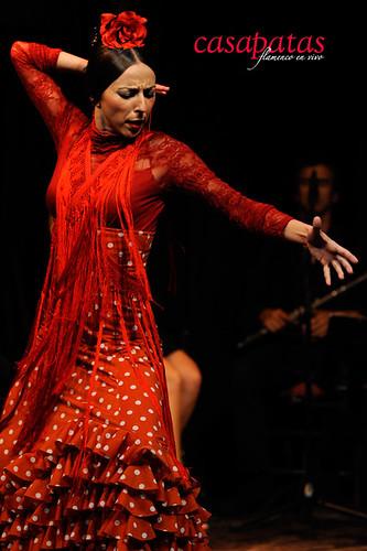 La bailaora Mariana Collado. Foto: Martín Guerrero
