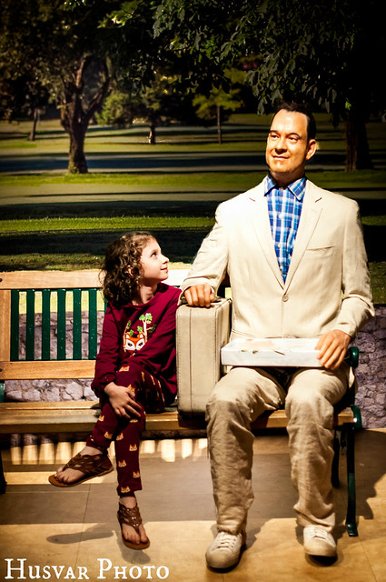 hollywood wax museum forrest gump tom hanks in_the_know_mom