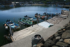 Shimado fishing port