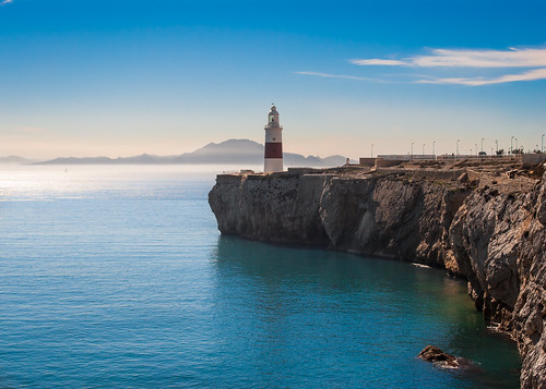 africa blue sky lighthouse seascape landscape nikon day bluesky clear gibraltar