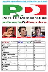 Primarie PD: Plebiscito per Renzi anche nel Vallo di Diano. Alta l'affluenza alle urne