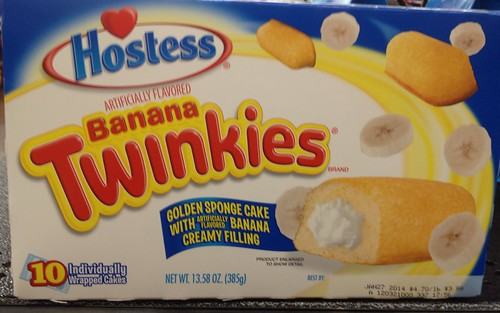 HOSTESS BANANA TWINKIES 2014 Graphics