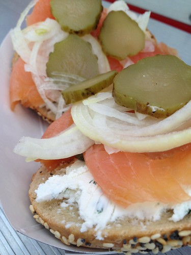 Everything Bagel with lox from Tastebud