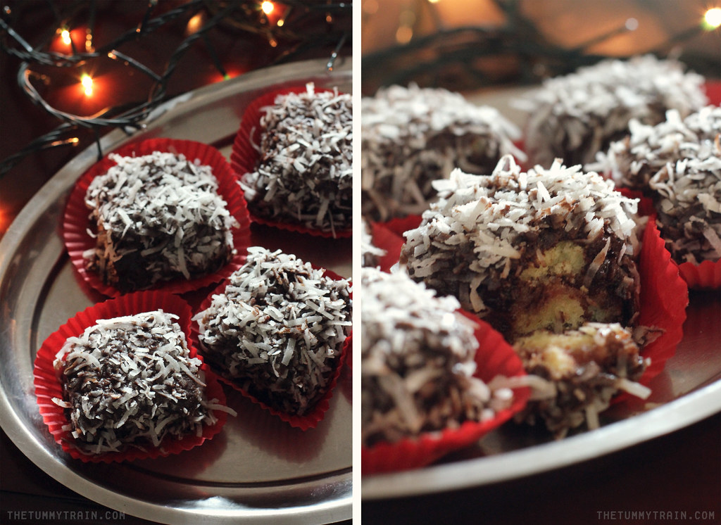 11418147173 3348df9aec b - {Christmas Countdown 2013} Just because lamingtons remind me of snow