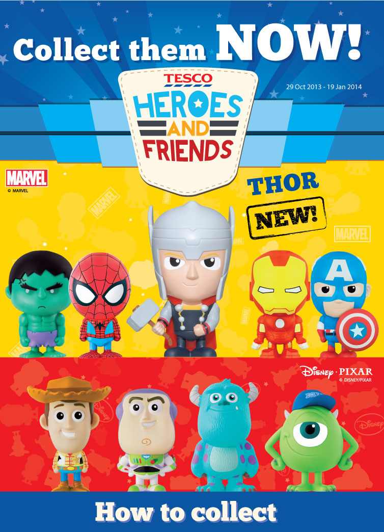 Tesco Heroes And Friends