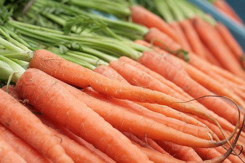 Expanding trade for U.S. organic products—like the carrots pictured above—creates opportunities for small businesses and increases jobs for Americans who grow, package, ship and market their organic products.