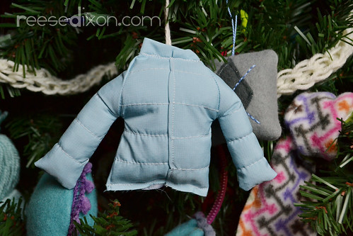Puffy Coat Ornament