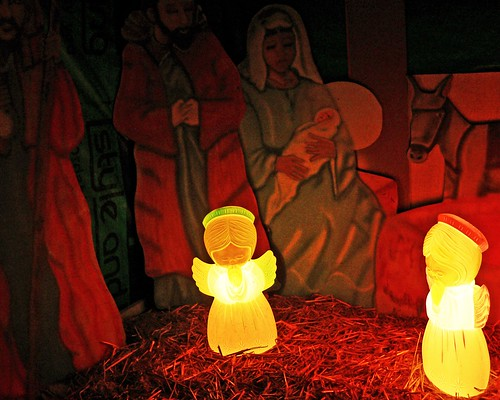 angels at Jesus birth
