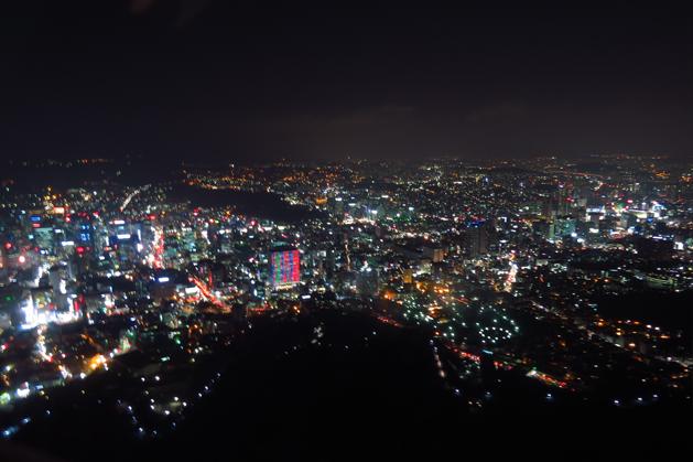 美到無法言語形容的首爾夜景