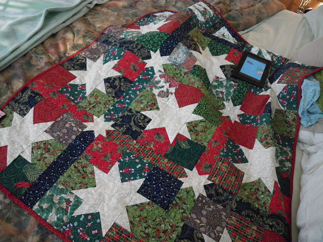 Merry Stars quilt