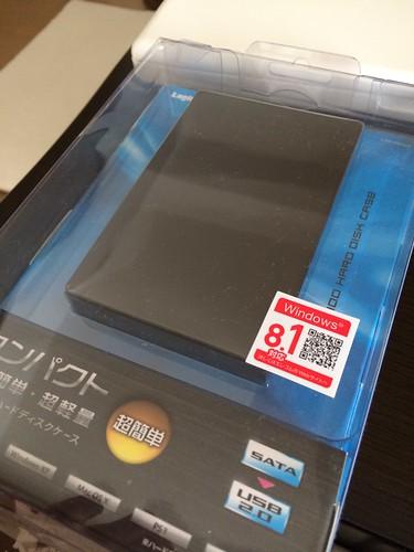 購入した内蔵ハードディスクをUSDハードディスクにするハードディスクケース
