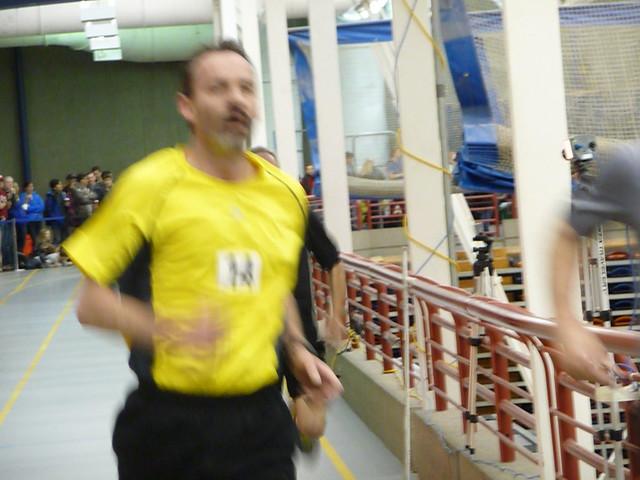 Neil's finish - plus Pete's arm
