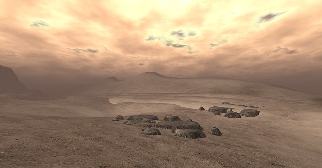SL-Second Life Stock Images/Backgrounds-The Wastelands 04