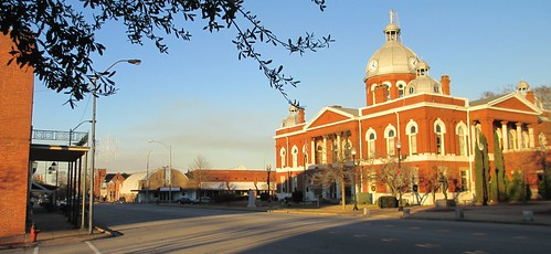 Downtown LaFayette, Alabama