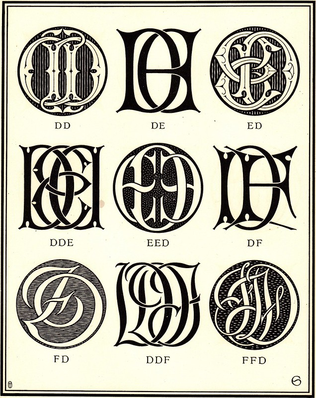 Monograms & Ciphers by AA Turbayne 1912 f