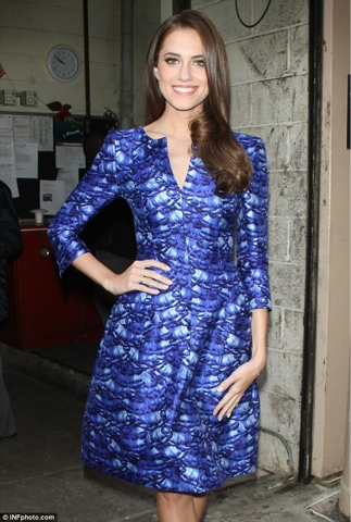 allison williams, oscar de la renta