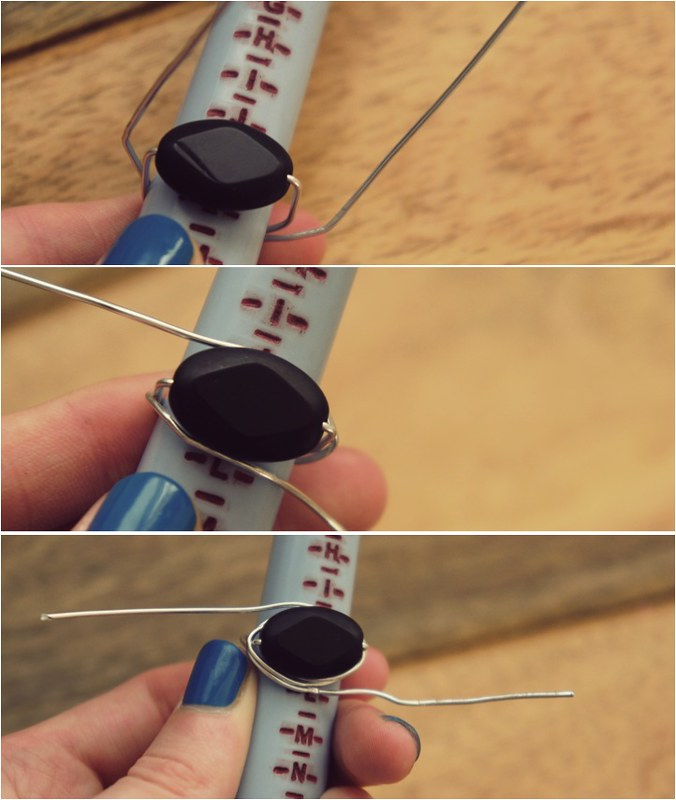 diy wire ring 4