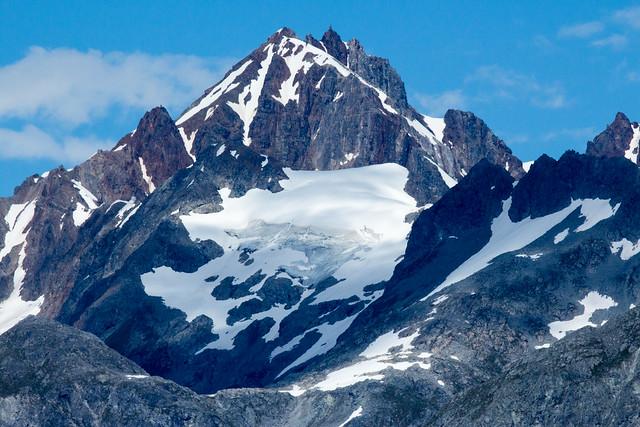 Parque nacional de la Bahía de los Glaciares. Alaska.