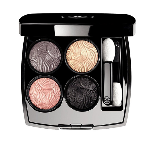 Chanel Jardin De Camelias Makeup Collection Quadra Eyeshadow in Jardin Zen