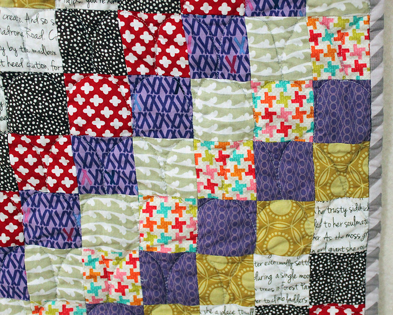 Scrappy Trips quilt