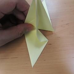 วิธีพับกระดาษเป็นดอกกุหลายแบบเกลียว 020