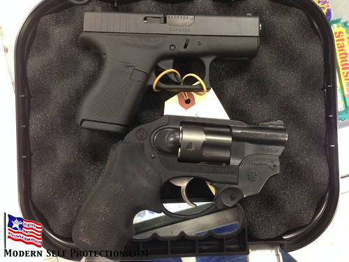 Glock 42 and Ruger LCR