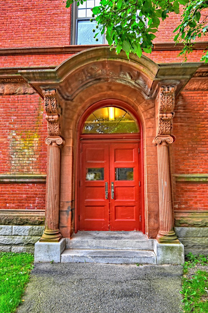 Dexter Hall Doorway