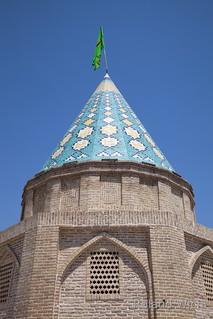 Qom - Bagh-e Gonbad-e Sabz Mausoleum