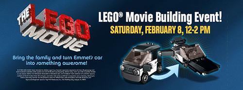 The LEGO Movie Building Event